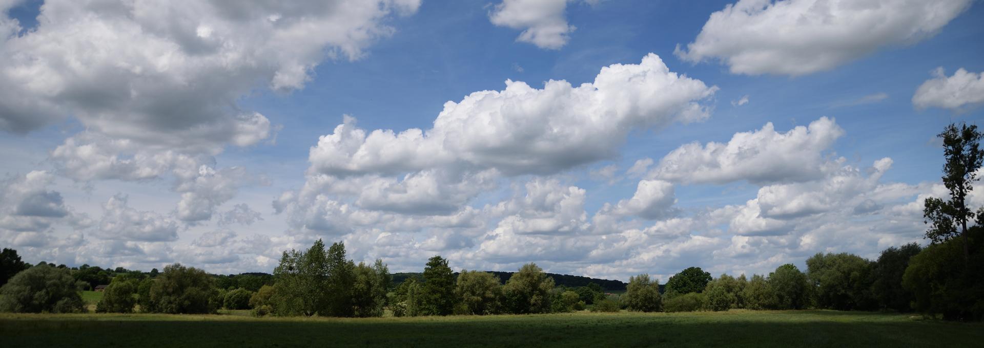 Een mooie lucht in Limburg!